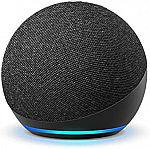 All-new Echo Dot (4th Gen) 2-Pk $80, Echo (4th Gen) + Bulb $100