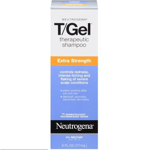 Neutrogena 露得清 T/Gel 去屑止痒洗发液, 6 oz
