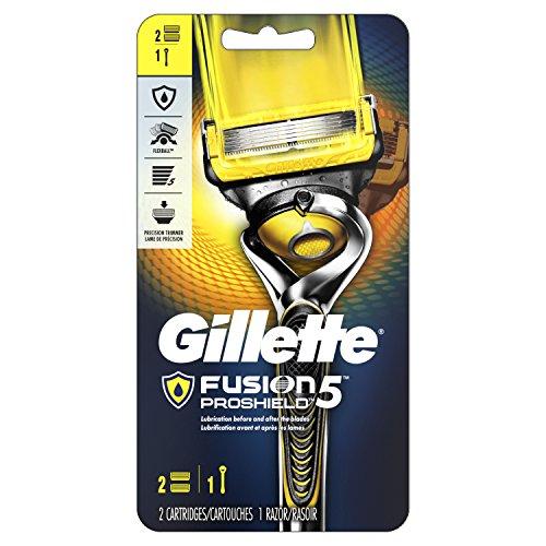 Gillette吉列 Fusion ProShield 锋隐致护 剃须刀 + 2刀头