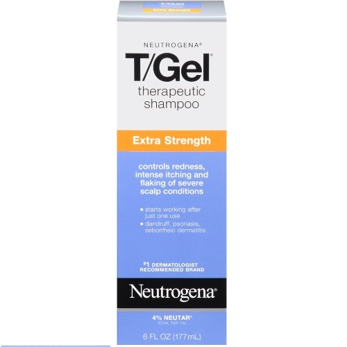 Neutrogena Therapeutic Extra Strength Gel Shampoo, 6 Fluid Ounce
