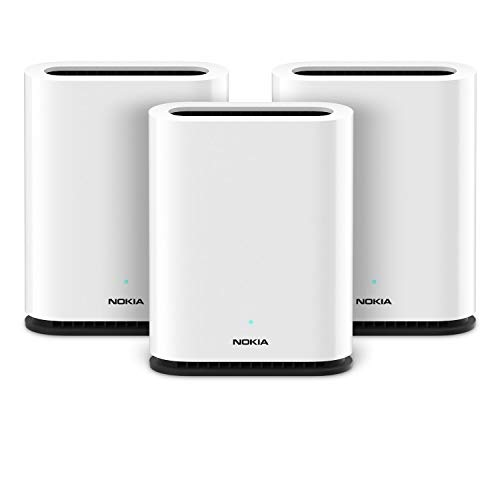 3-Pack Nokia WiFi Beacon 1 AC1200 Whole Home Mesh WiFi System