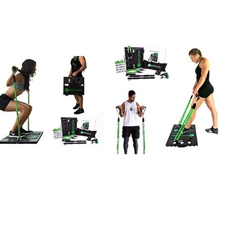 金盒特价!BodyBoss 便携式健身套装 + 额外一套阻力带