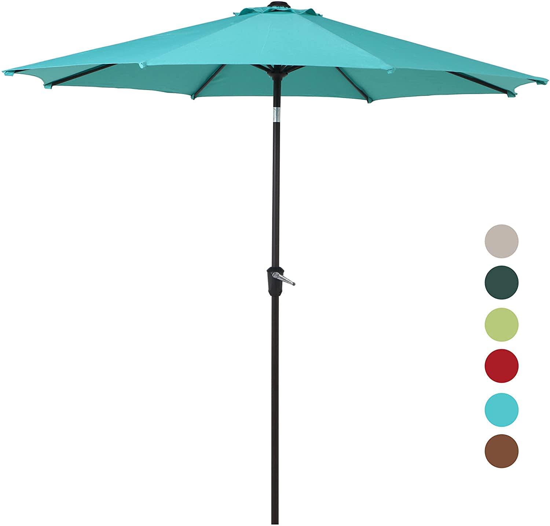 Grand Patio 9-Foot Aluminum Patio Umbrella