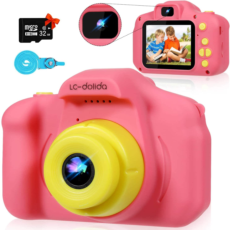 LC-Dolida Kids' 12MP Camera