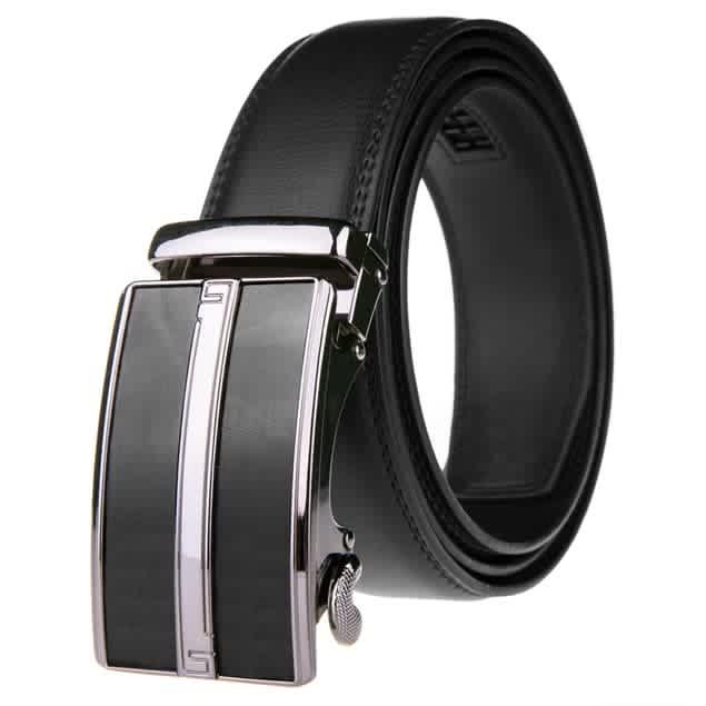 Braveman Men's Leather Ratchet Belt