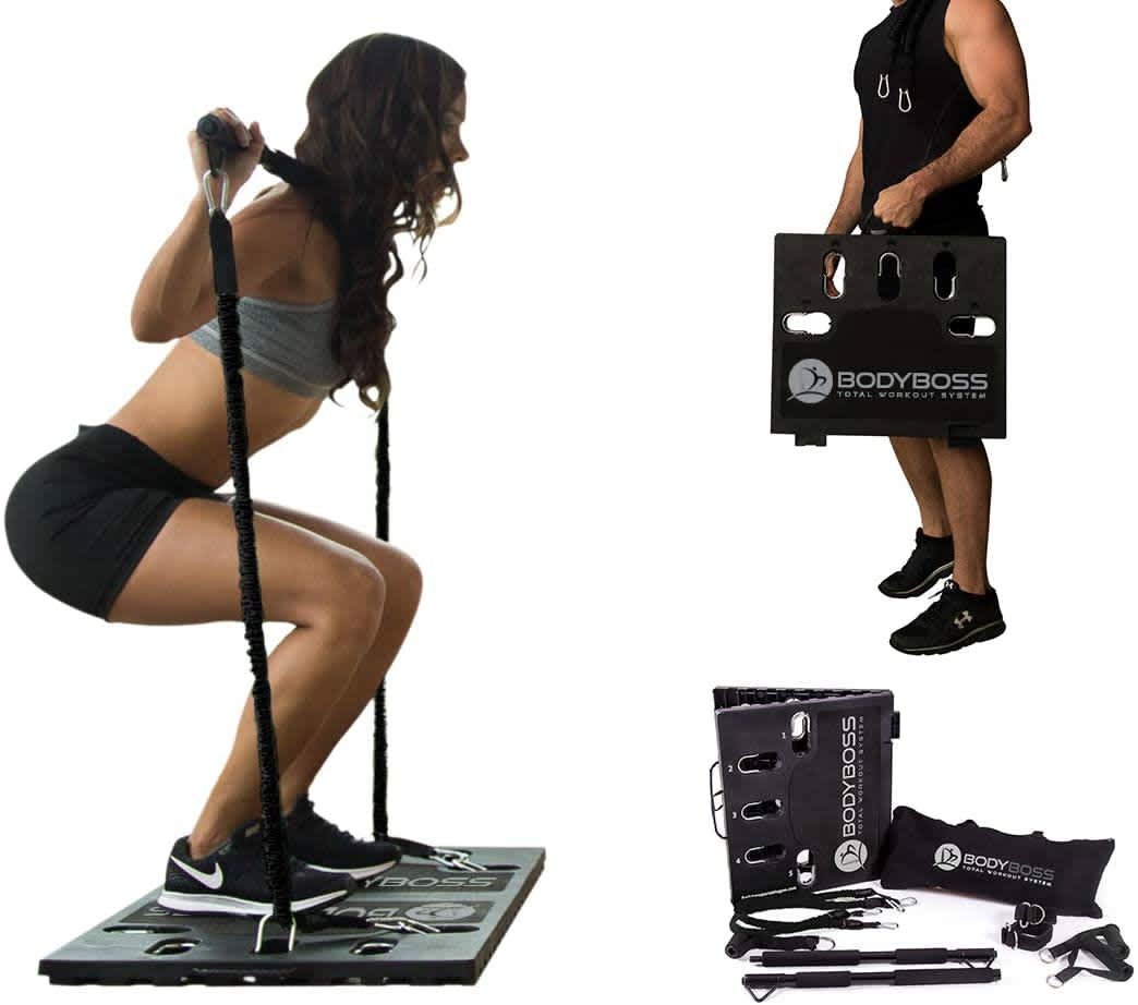 BodyBoss Home Gym 2.0 Portable Gym Kit w/ Extra Bands
