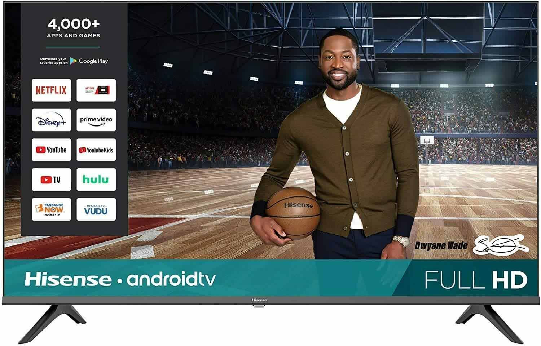 "Hisense 43"" 1080p HD Smart Android TV"