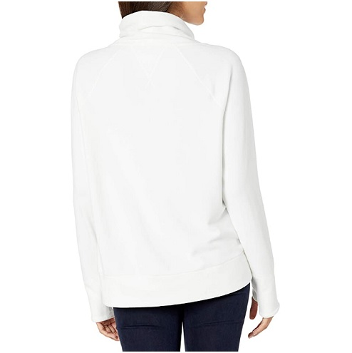 Tommy Hilfiger Women's Long Sleeve Fleece Pullover Logo Sweatshirt