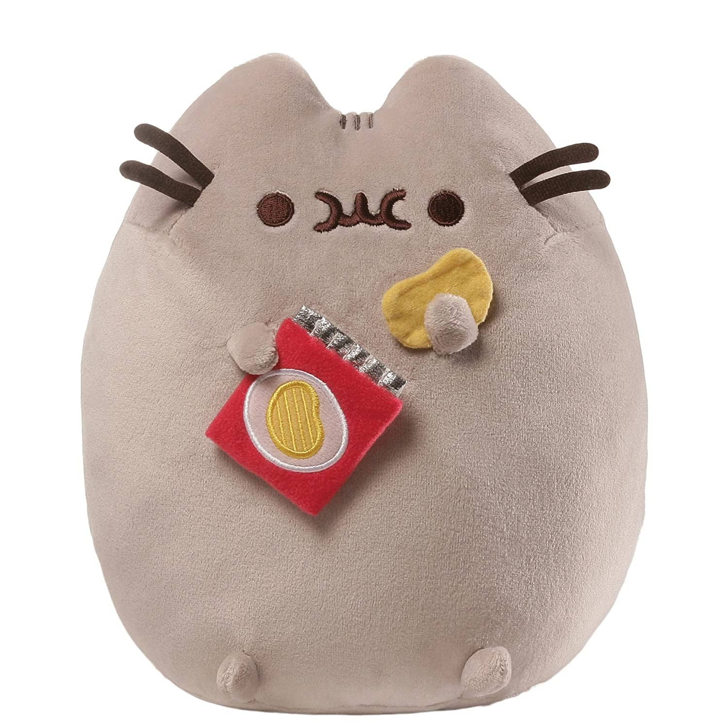 "9.5"" GUND Pusheen Snackables Potato Chip Cat"