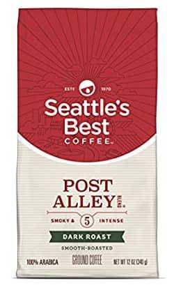 12oz Seattle's Best Coffee Post Alley Blend Ground Coffee (Dark Roast)