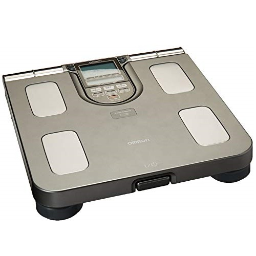Omron HBF-514C Body Composition Monitor And Scale With Seven Fitness Indicators, Full Body Sensor with Scale