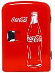 Classic Coca-Cola 6-Can Personal Mini Cooler & Fridge