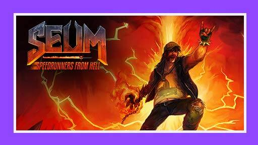 Prime Gaming: SEUM: Speedrunners from Hell (PC Digital Download)