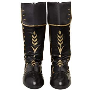 Disney Frozen Girls' Frozen 2 Anna Costume Travel Boots (Size 9-11)