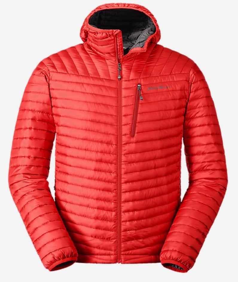 Eddie Bauer Men's MicroTherm 2.0 Down Hooded Jacket