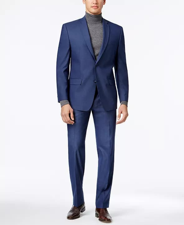 Marc New York by Andrew Marc Men's Classic-Fit Stretch Suit