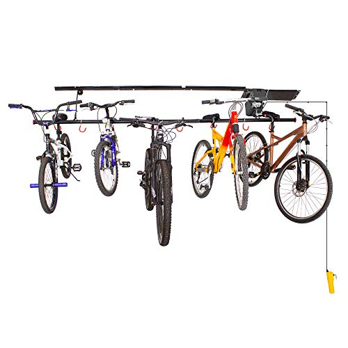 Garage Gator 68221 Motorized 8 Bike Lift, Black