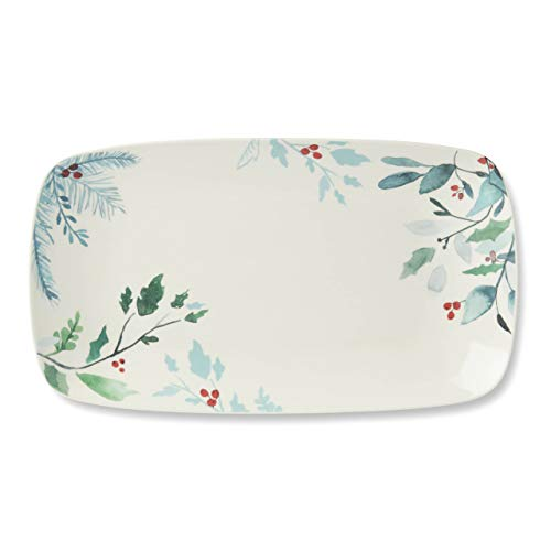 Lenox Frosted Pines Hors D'oeuvre Tray