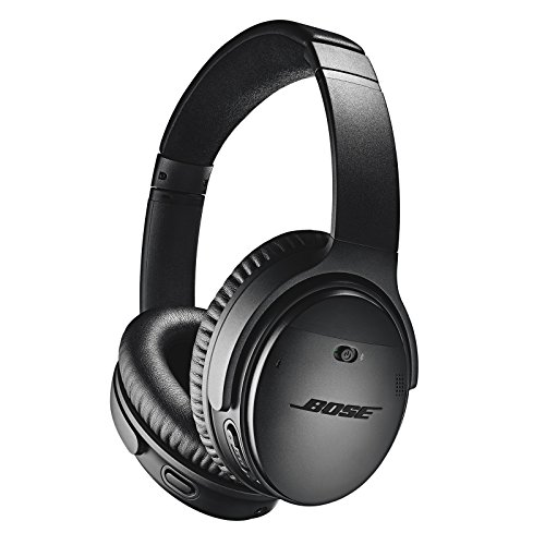Bose QuietComfort 35 Wireless Headphones II, Noise Cancelling - Black