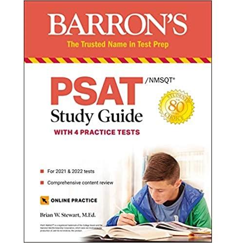最新版!《Barron's PSAT/NMSQT 备考书》