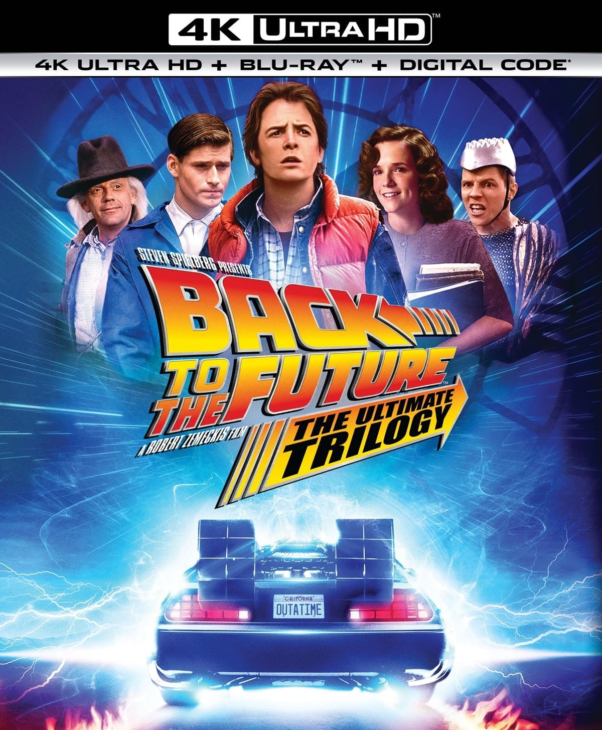 Back to the Future Trilogy Pre-Order (4K Ultra HD + Blu-ray + Digital)