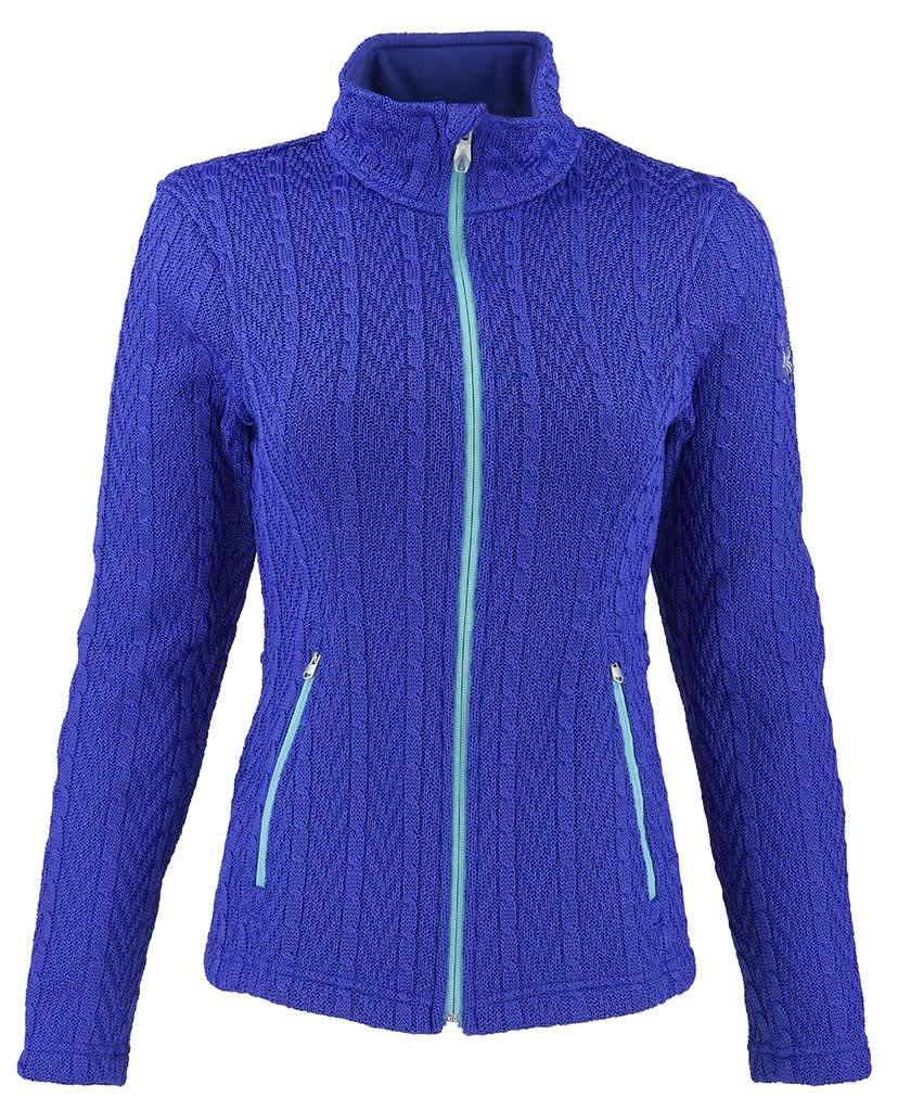 Spyder Women's Major Cable Stryke Sweater Jacket