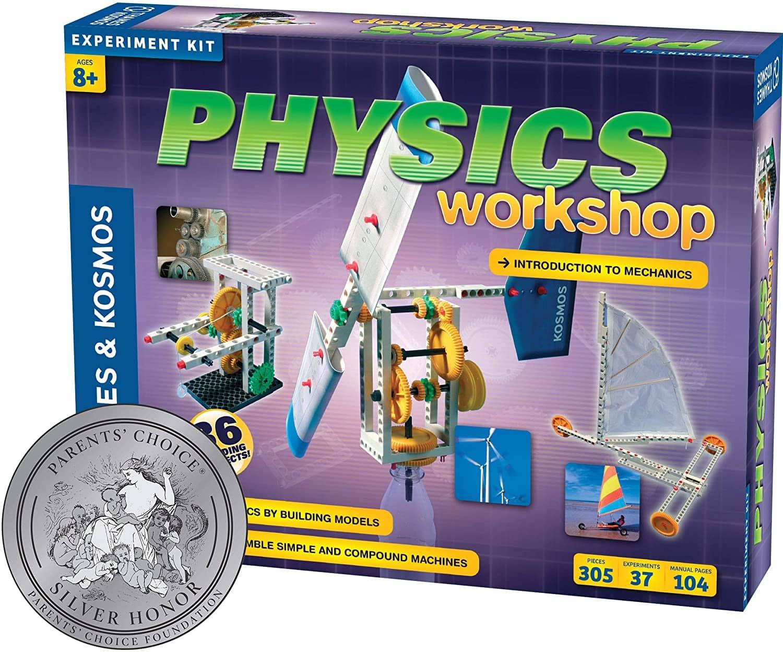 305-Piece Thames & Kosmos Physics Workshop Experiment Kit