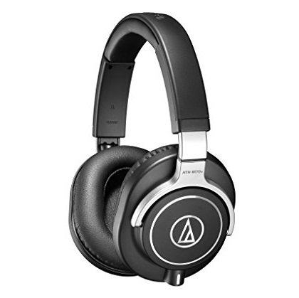 Audio-Technica铁三角ATH-M70x 专业监听级耳机