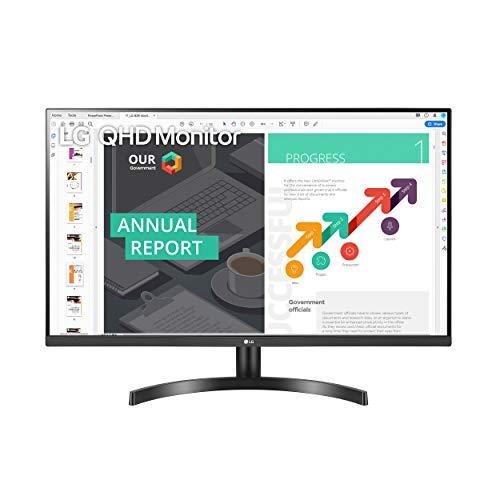 史低价! LG 32QN600-B  2K 75Hz FreeSync IPS 显示器,32吋