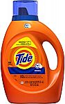 64 Loads Tide Laundry Detergent Liquid