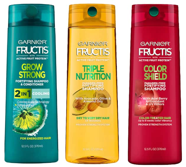 12-Oz Garnier Fructis Shampoo or Conditioner (Various)