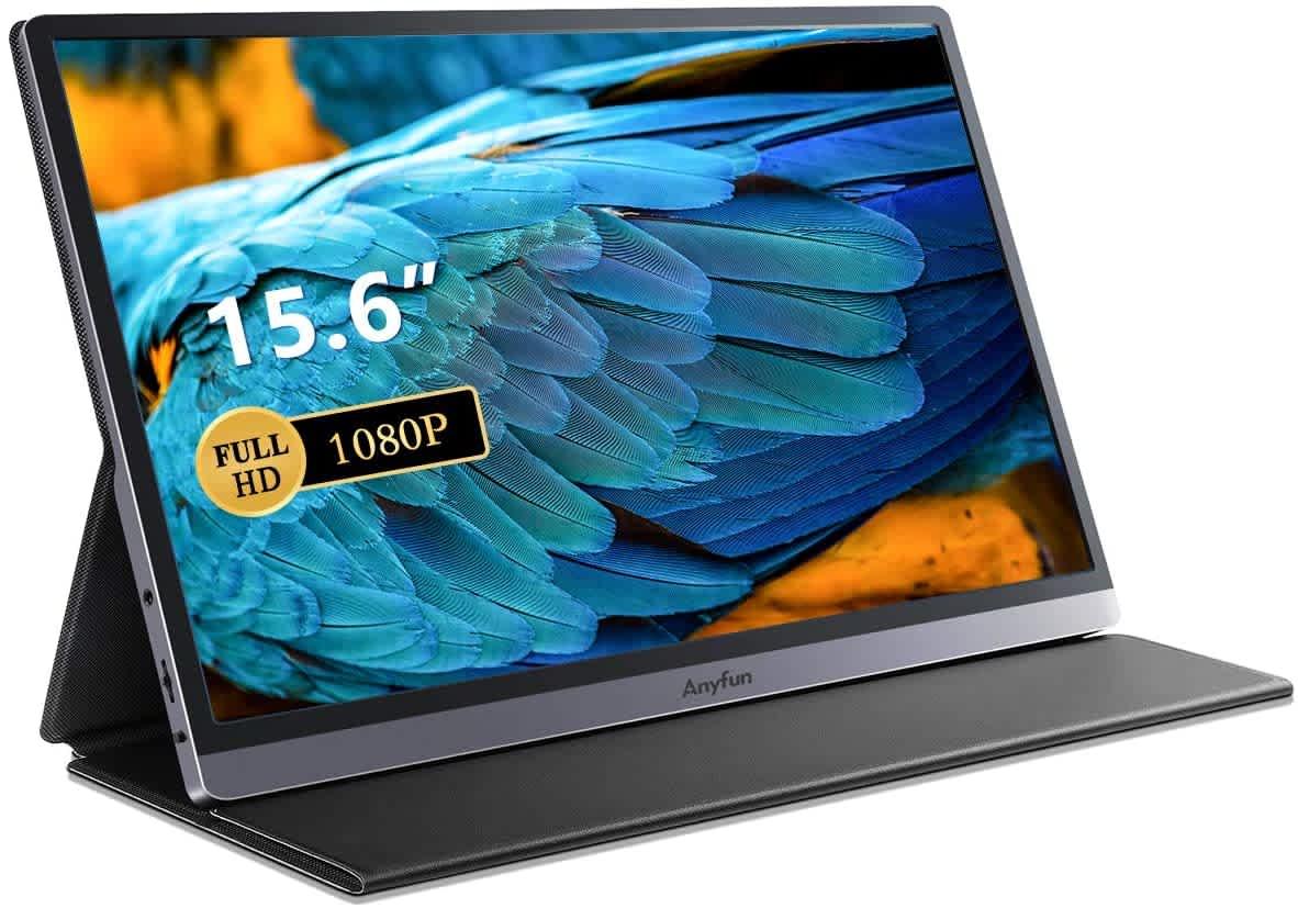 "AnyFun 15.6"" 1080p HD Portable Monitor"