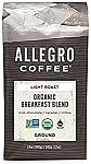 Allegro Coffee Organic Breakfast Blend Ground Coffee, 12 oz