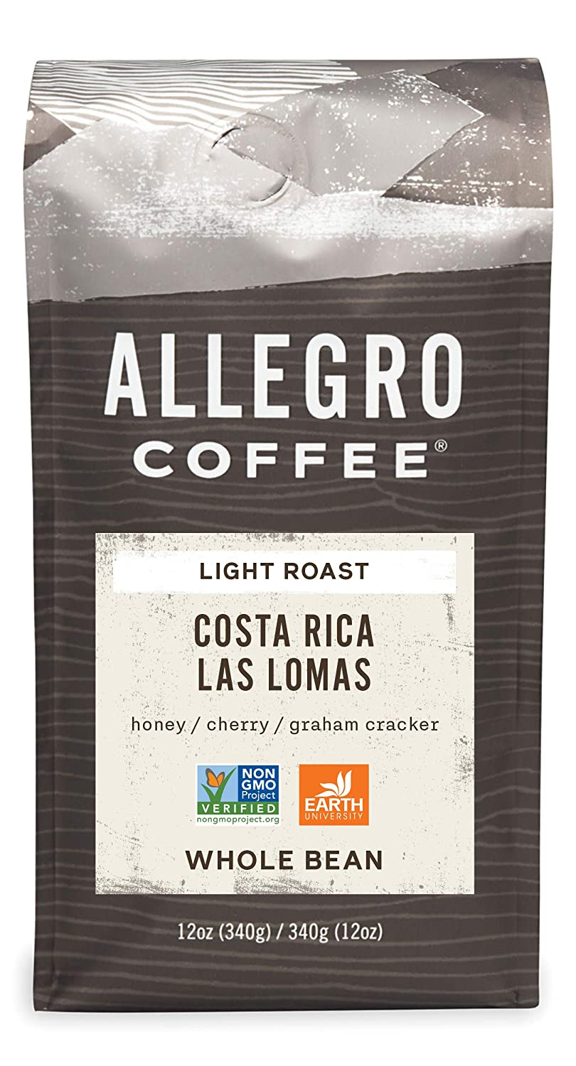 12-Oz Allegro Coffee Whole Bean or Ground (Various)