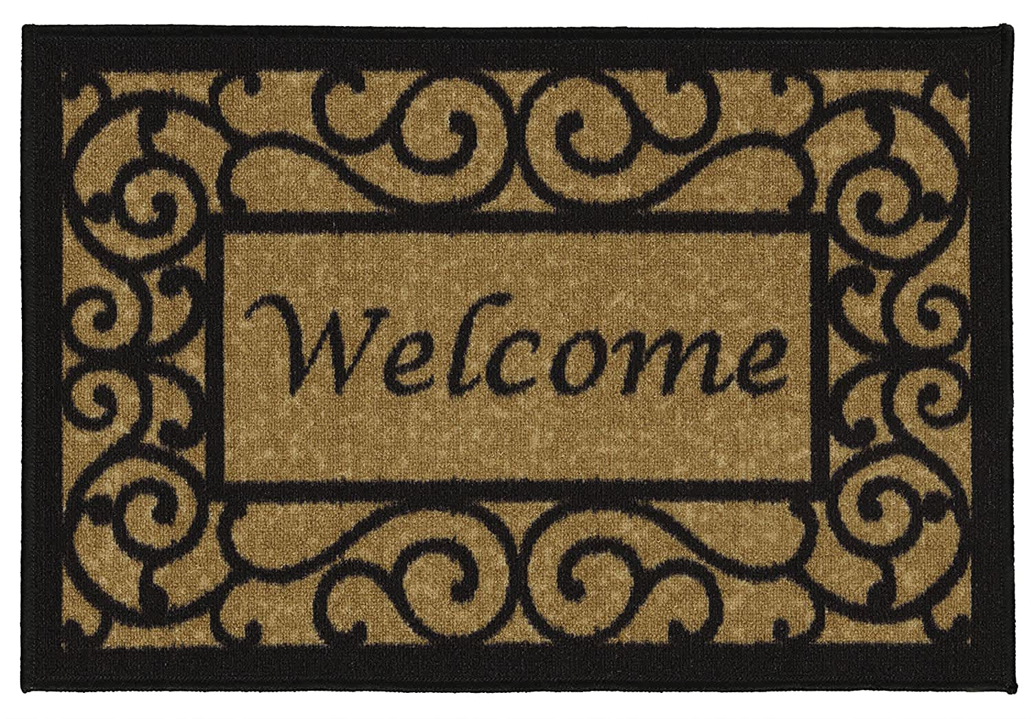 Ottomanson Ottohome Collection Welcome Doormat