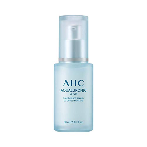 AHC Face Serum Aqualuronic Hydrating Aqualuronic Korean Skincare 1.01 oz
