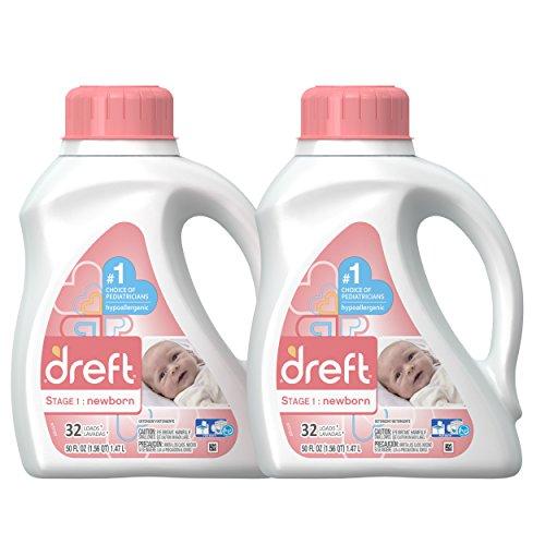 Dreft 新生儿洗衣液,50盎司/瓶,共2瓶, 现点击coupon后仅售