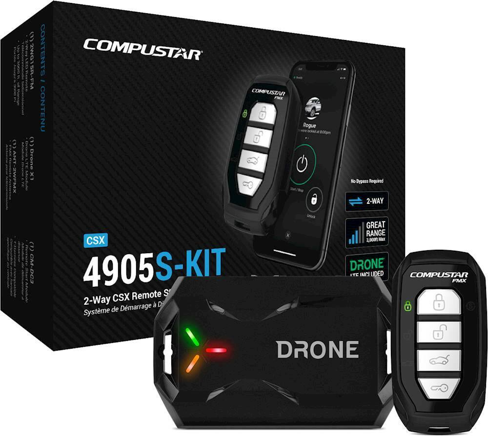 Compustar 2-Way CSX Remote Start System w/ LTE Module + Installation