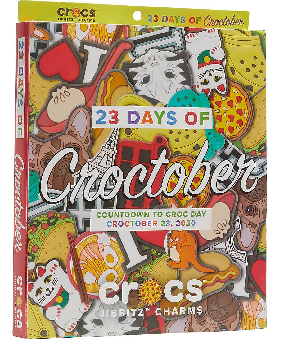 Crocs Croc Day 50-Piece Jibbitz Charms Calendar