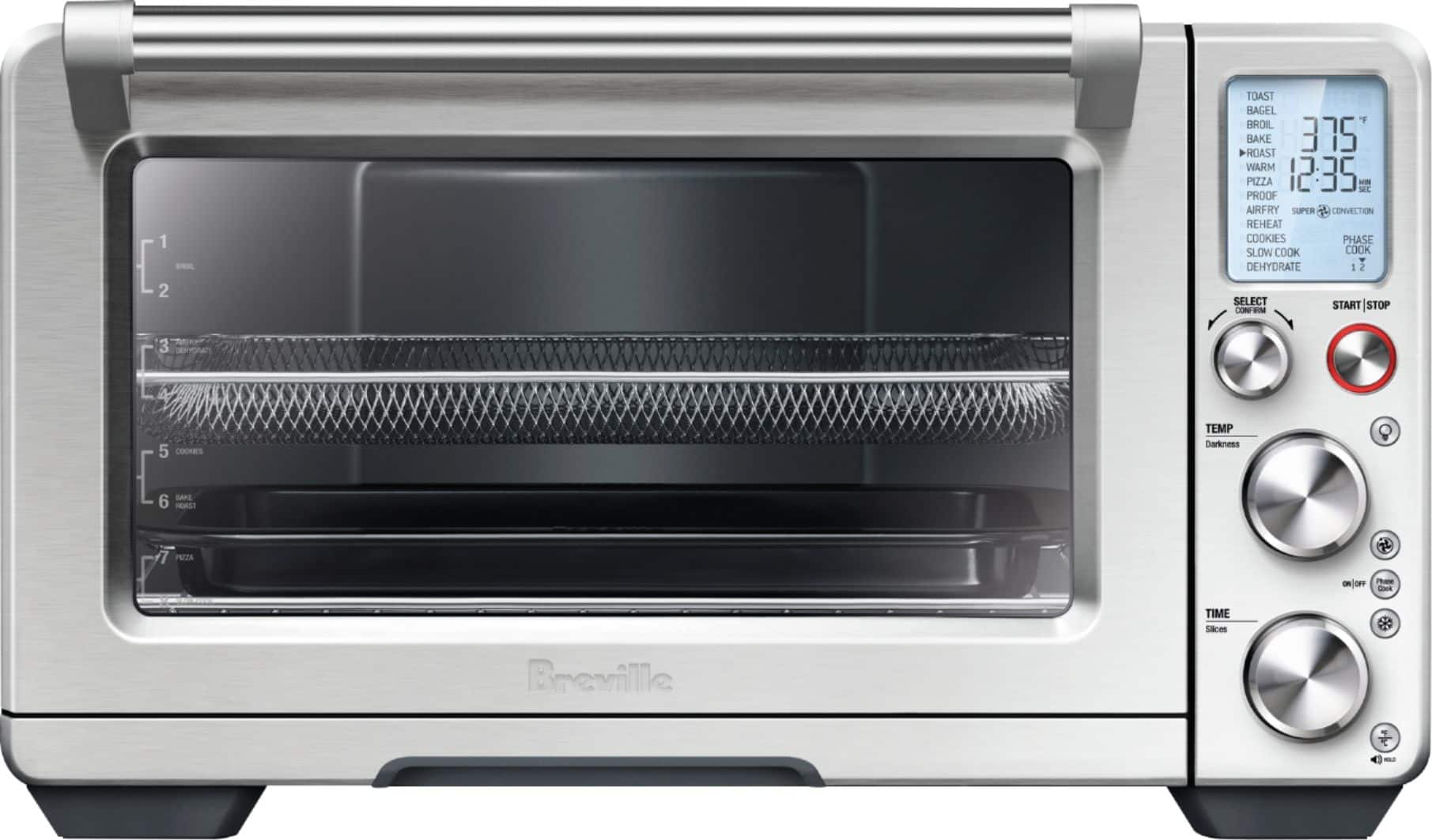 Breville Smart Oven 1800-Watt Air Convection Toaster Oven