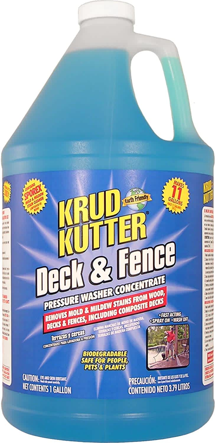 Krud Kutter 1-Gallon Deck & Fence Pressure Washer Concentrate