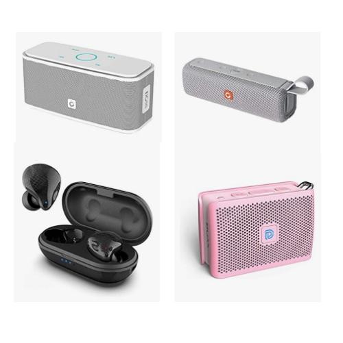 金盒特价!万圣节特价!Amazon精选 DOSS 无线蓝牙音箱、耳机30% off!高清音质重低音便携蓝牙音箱低至
