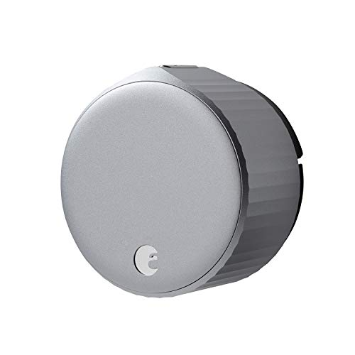 August Wi-Fi Smart Lock (Newest Model 4th Gen) - Alexa, Google Assistant, HomeKit, SmartThings and Airbnb Compatible - Upgrade Your Deadbolt - Silver