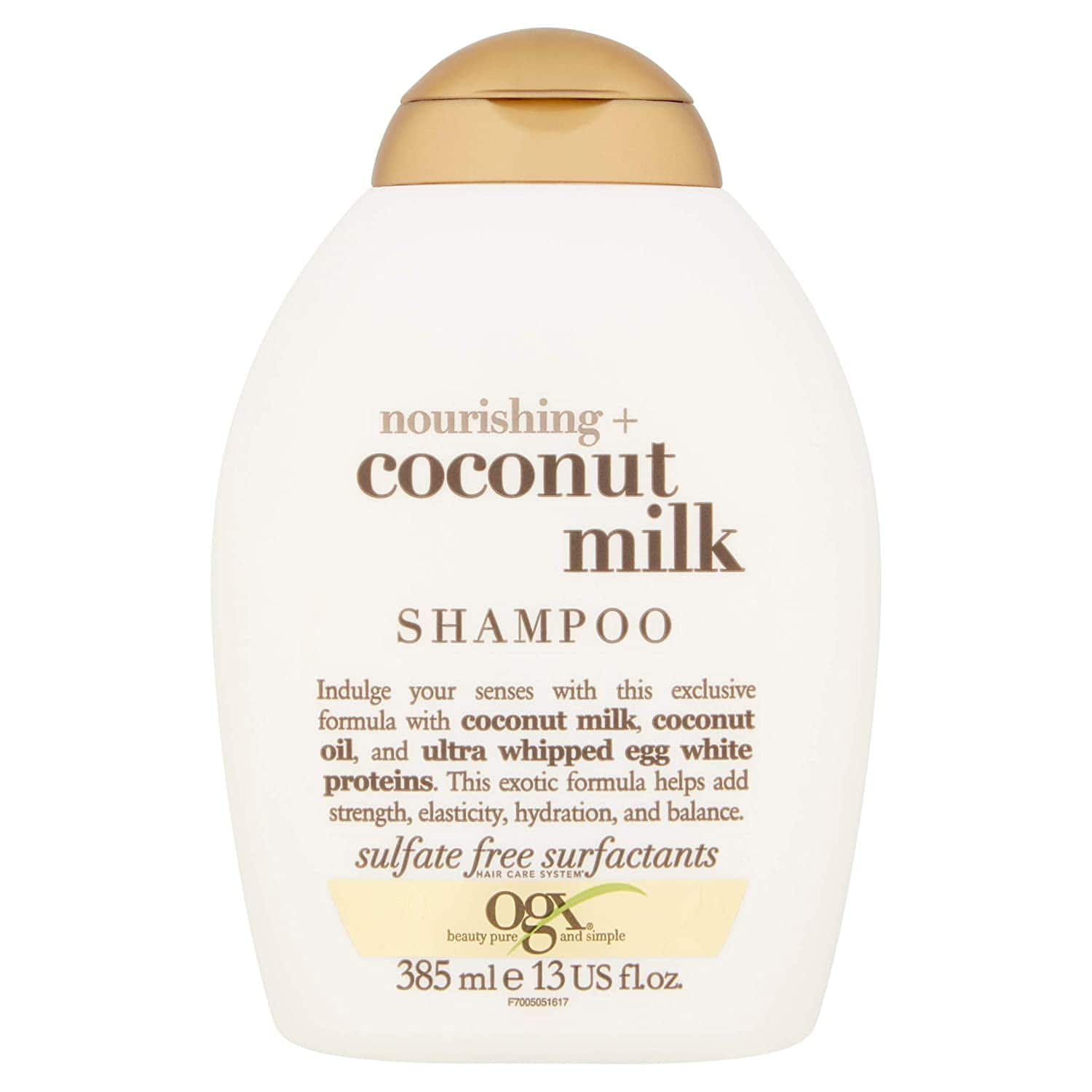 OGX Nourishing + Coconut Milk Shampoo, 13 Ounce - $3.72 with 5% (or $3.13 with 15% off) S & S