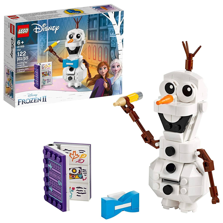 LEGO Disney Frozen II Olaf the Snowman Toy Figure Building Kit