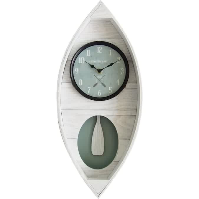 FirsTime and Co Analog Novelty Wall Clock