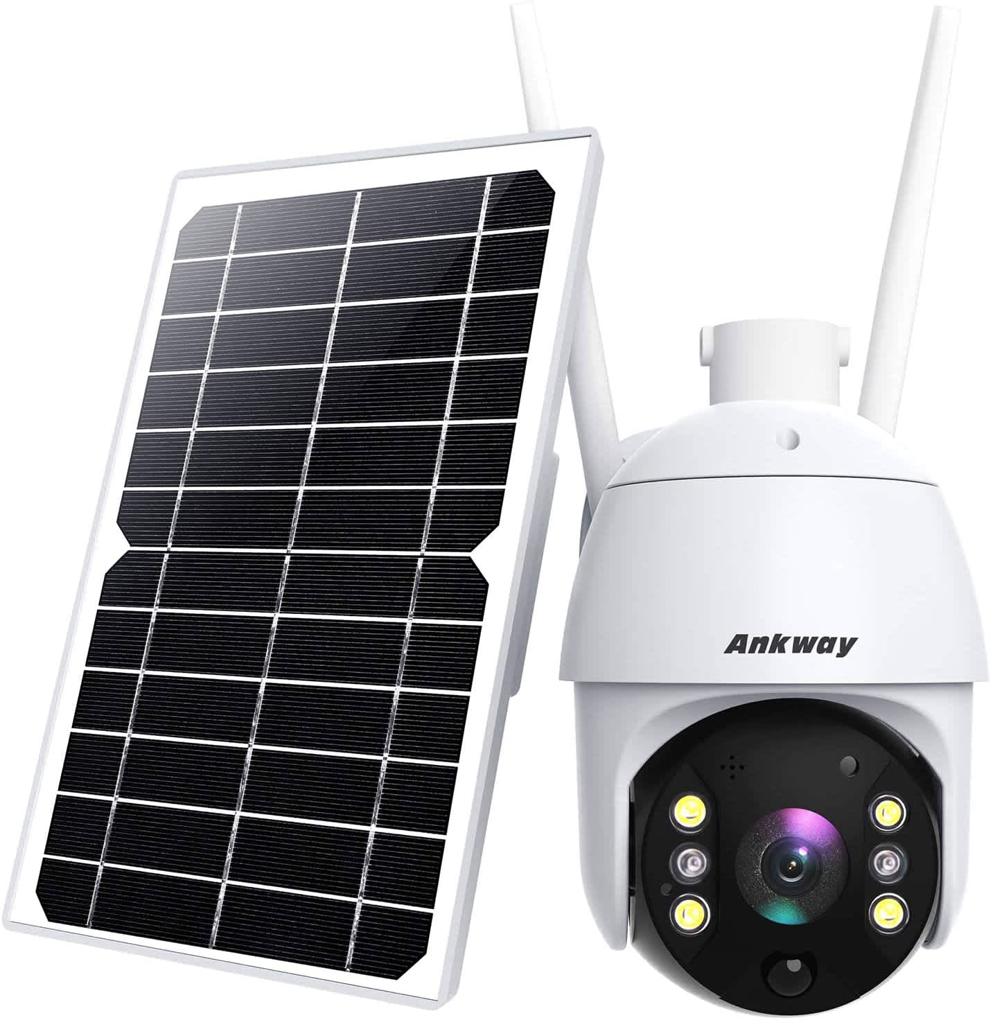 Ankway Solar Outdoor Security Camera