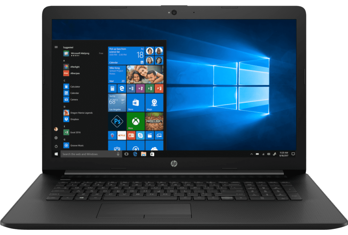 "HP 17t 10th-Gen. Ice Lake i7 17.3"" Laptop"