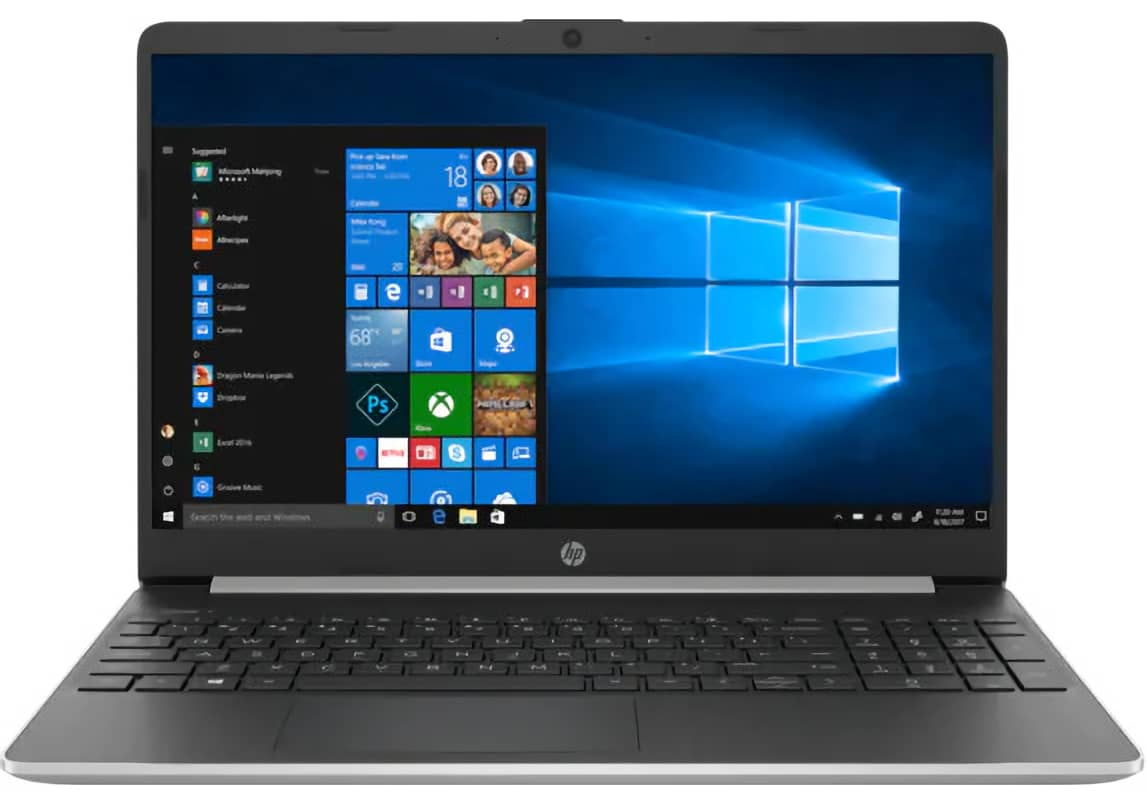 "HP 15t 10th-Gen. Ice Lake i5 15.6"" Laptop"