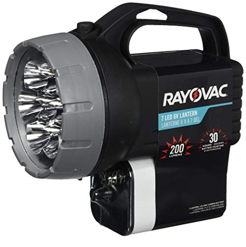 RAYOVAC Floating LED Lantern Flashlight, 6V Battery Included, Superb Battery Life, Floats For Easy Water Recovery, Emergency Light